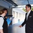 Cônsul Geral do Japão, Vice Cônsul e Diretora-Presidente da ACF.