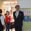 Cônsul Geral do Japão conhecendo o Colégio.