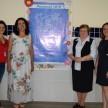 Supervisora de Ensino de Itapecerica da Serra, Sra. Luzia de Fátima Alonso Gonçalves, ao lado da Diretora da unidade, da Diretora-Presidente da ACF e da Gerente Educacional da ACF.