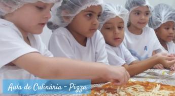 Aula de Culinária - Pizza